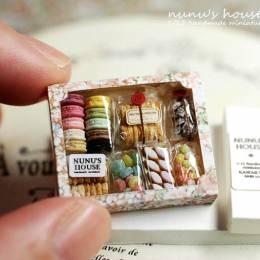 指尖上的甜品店 细小的美食