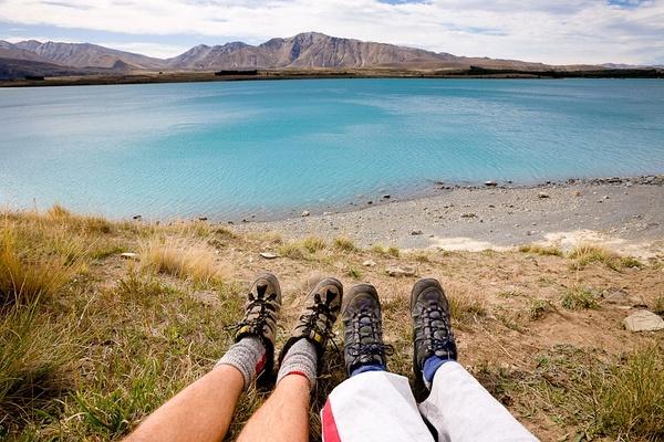 蒂卡波湖,新西兰。