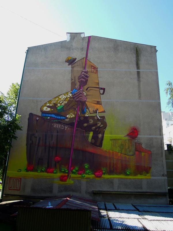 Przemek Blejzyk 街头涂鸦作品欣赏