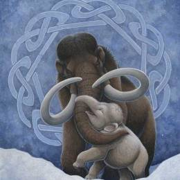H. Kyoht Luterman 以古生物为原型的插画作品