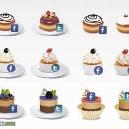 5套精美的社会化图标免费下载