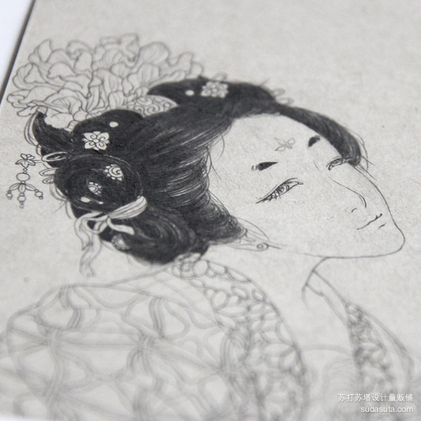阿舍 手绘插画作品欣赏