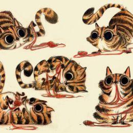 Betsy Bauer 手绘卡通造型设计