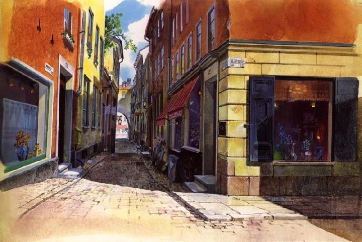 如果可以生活在宫崎骏的动画里