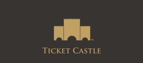 创意LOGO欣赏 城堡高高