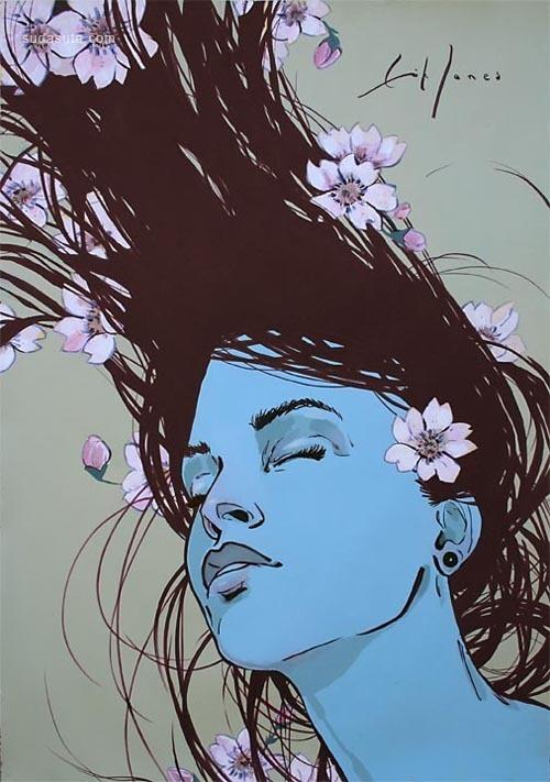 来自Erik Jones的插画作品欣赏