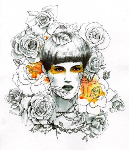 来自Nicole Guice的线条插画欣赏