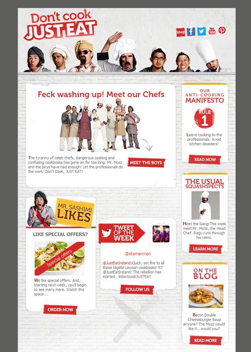 看起来像博客的电子邮件设计
