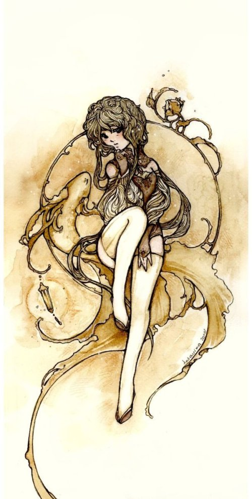 ~katarina-san 水彩的少女