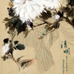 WenXiaoHu 水墨中国风插画欣赏