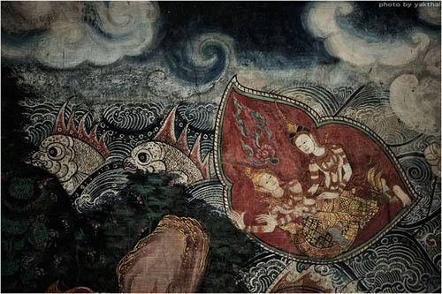 Wat Kongkaram 印度寺庙壁画分享