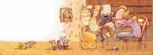 Eugenia Nobati 儿童插画作品欣赏