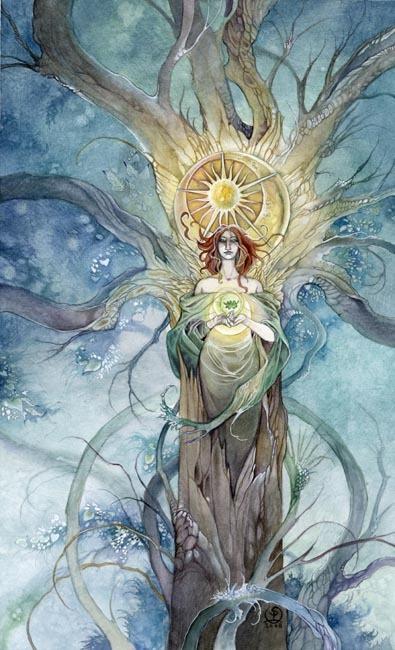 Stephanie Pui-Mun Law 神话主题插画欣赏