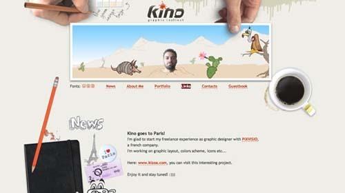 40个令人振奋的单页网站设计欣赏