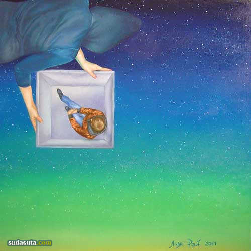 Lisa Ray 超现实主义油画欣赏