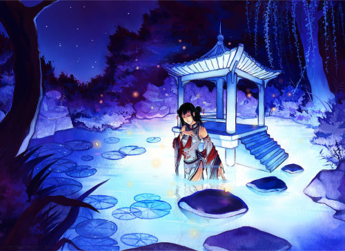 Qinni 那些暗夜里的星星