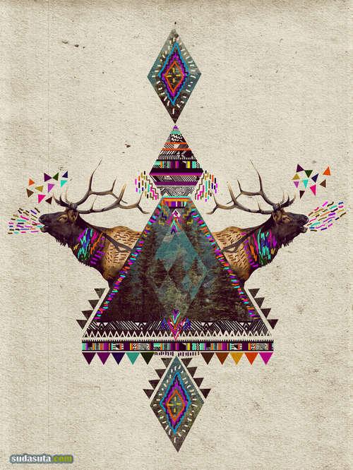 Kris Tate 瑰丽的三角形元素