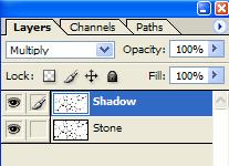 在photoshop中创建一个真实的石头纹理