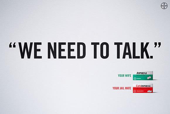 文字效果在平面广告中的应用