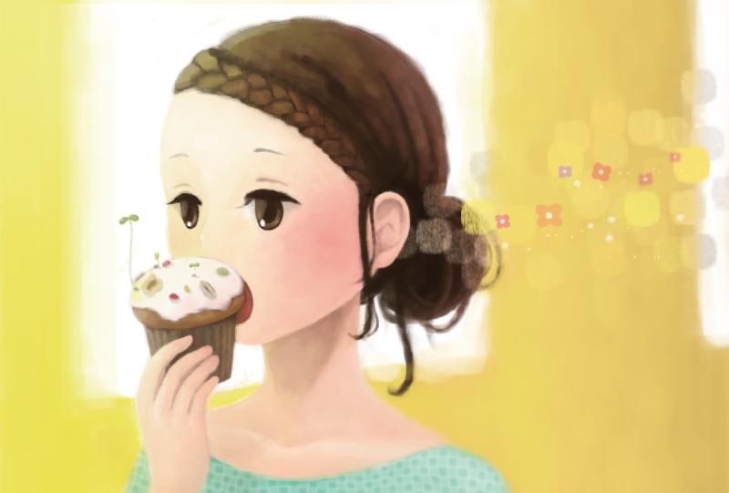 ユカリ 可爱清新的插画作品