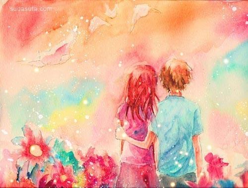 30个非常漂亮的水彩画欣赏