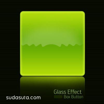 在photoshop中创建一个透明玻璃按钮
