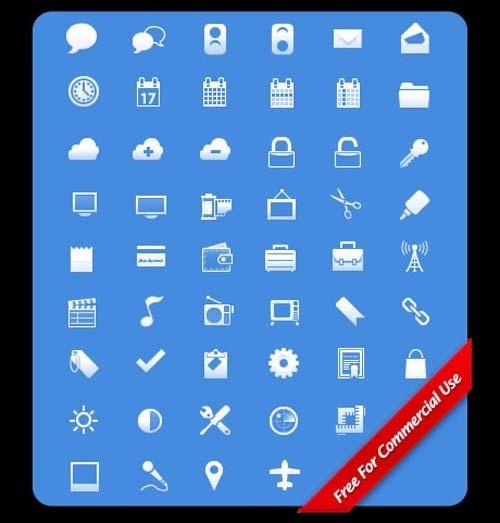14套免费的手机应用图标下载