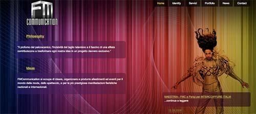 22个极好的运用了光效果的网页设计