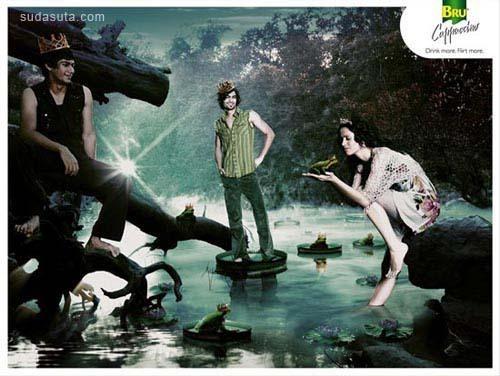 24个以童话为主题的创意广告设计