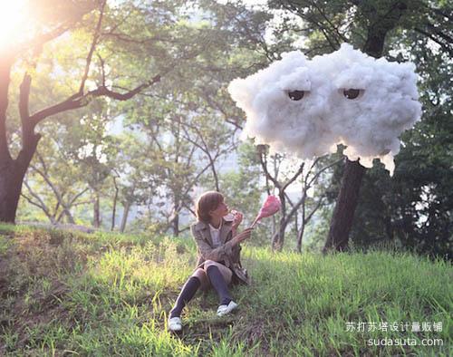 Michael Casker 和云朵谈恋爱
