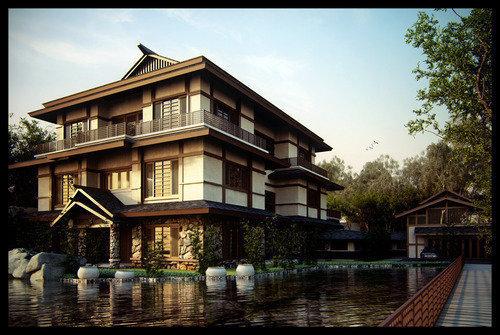 令人兴奋的三维渲染建筑欣赏
