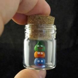 kelly 细小的手工粘土玩具