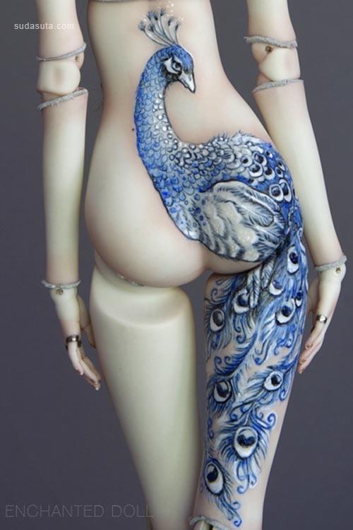 Marina Bychkova的关节娃娃