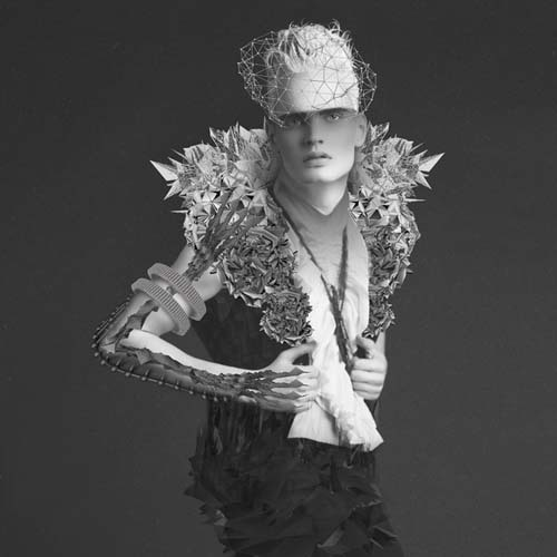 Michael Ostermann 时尚摄影与抽象艺术的结合