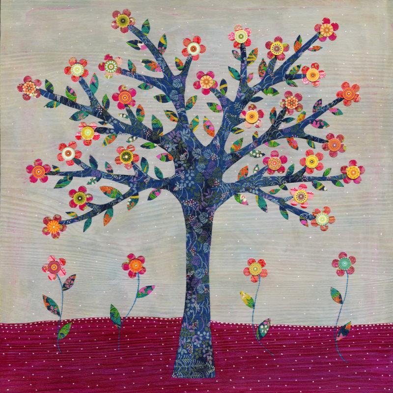 Sascalia 生活是充满色彩的花朵