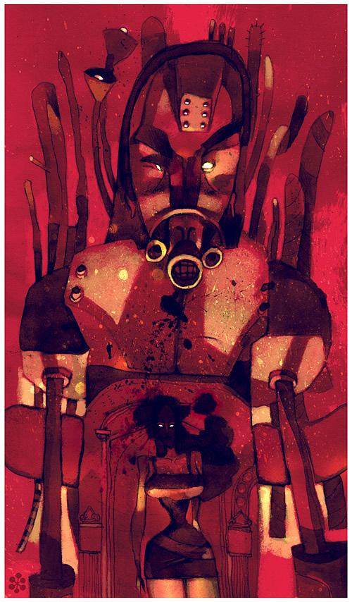 Patricio Betteo 精致的装饰主义插图