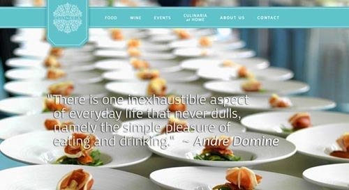 30个极其不错的餐厅和酒店网站设计欣赏