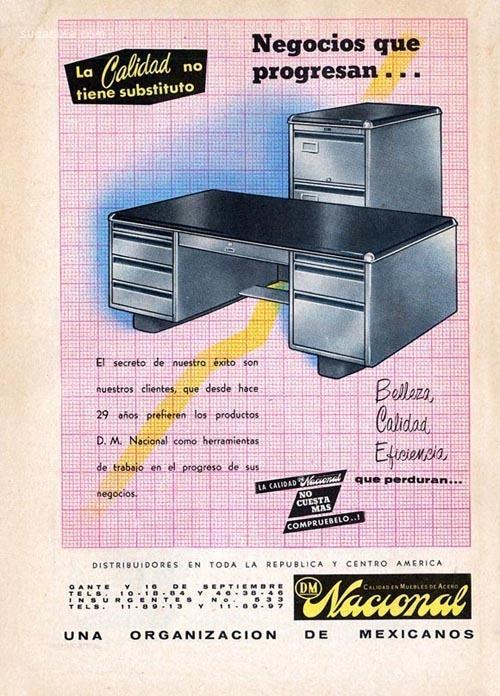 墨西哥早期广告欣赏
