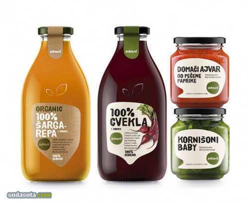 包装设计欣赏《Naturall & Zdravo》