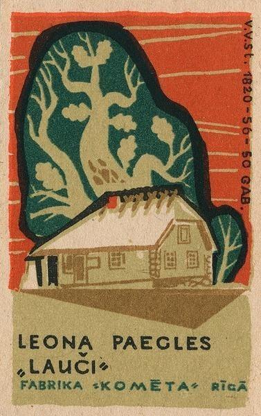 19张古老的欧洲火柴盒封面设计