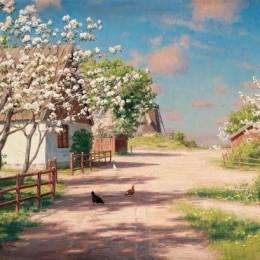 Johan Krouthen 日光与乡村