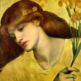 Dante Gabriel Rossetti 插画作品欣赏