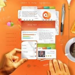 35个非常充满创造力的网站设计欣赏