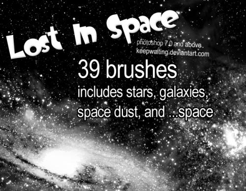 16套photoshop笔刷免费下载