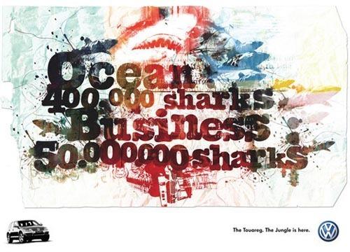 应用在广告设计中的华丽排版设计(50例)