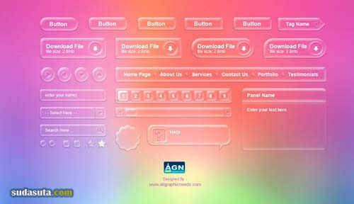 免费GUI源文件分享