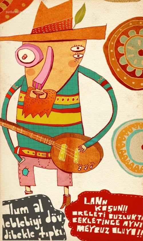 ufukbey 儿童插画欣赏
