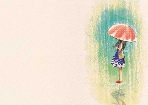 Tuyet Dinh Sinh Vat 恋爱的心情 水彩漫画欣赏