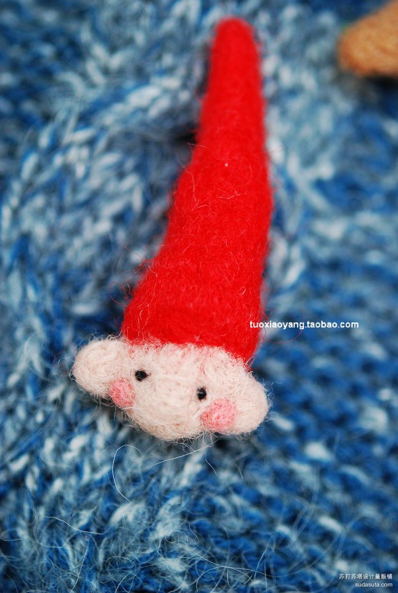 gnome~很畅销的一款哦,戳的我都疼啦,卖掉过好多个。也是胸针