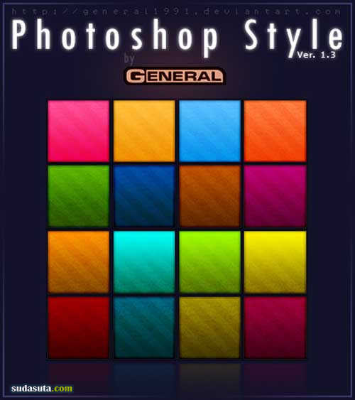 photoshop免费图层样式下载